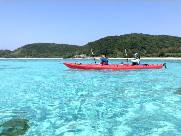 自分で漕いで進むこの自由な感じが冒険感を味わえてたまりません!