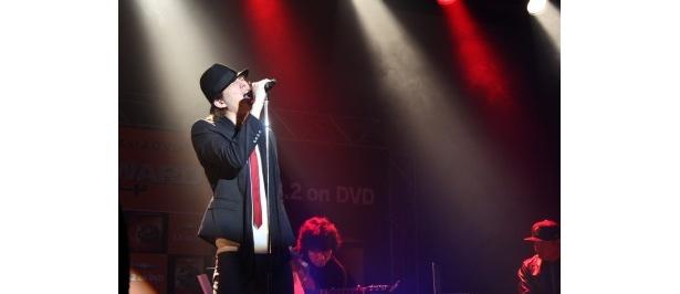 アーティスト・U(ユー)の初ライブの模様
