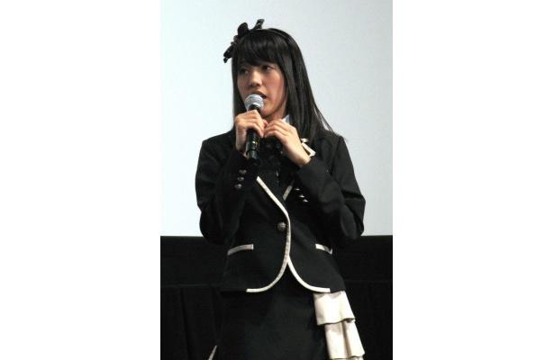 平田璃香子は「自分の顔がアップで映るのは快感!」と自慢げ