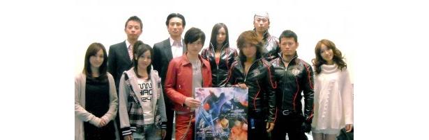 「仮面ライダーW」のスピンオフとしてVシネマ2作品が登場。木ノ本嶺浩、松岡充らキャスト出演の記念イベントも大盛況だった