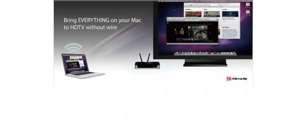 「McTiVia」(1万5645円)の使用イメージ。無線方式を採用したデバイスだ