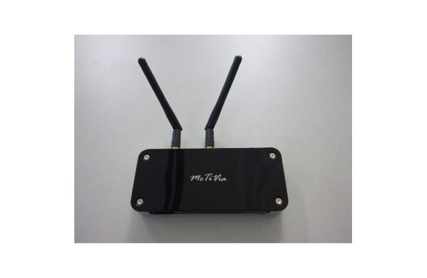 「McTiVia」裏面。自宅にある無線のアクセスポイントでも作動