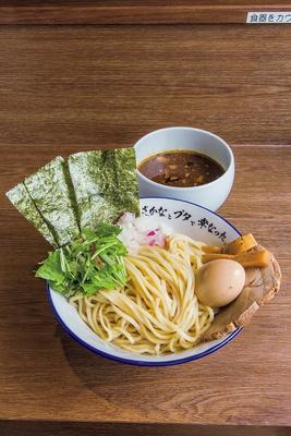 「特製魚豚つけ麺」(1,100円)