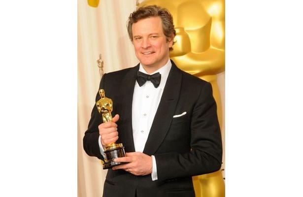 第3位は『英国王のスピーチ』で主演男優賞を受賞したコリン・ファース