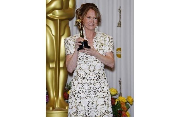 第4位に『ザ・ファイター』で助演女優賞を受賞したメリッサ・レオ