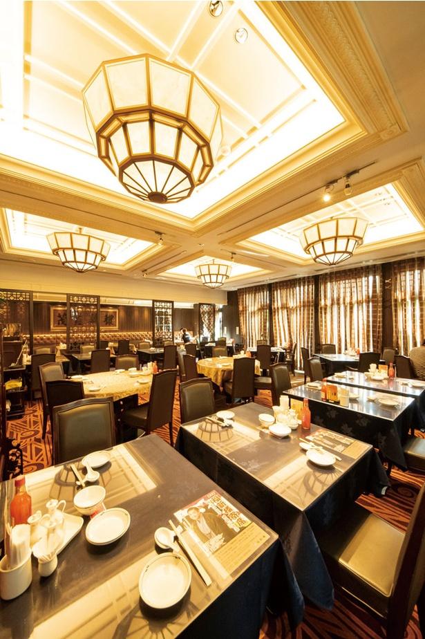 福新樓 / レストランフロア。2~4Fの個室はコースのみ利用可