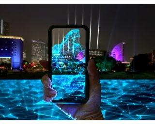 夜景xAR技術が織りなす横浜の大型ナイトアートプログラム