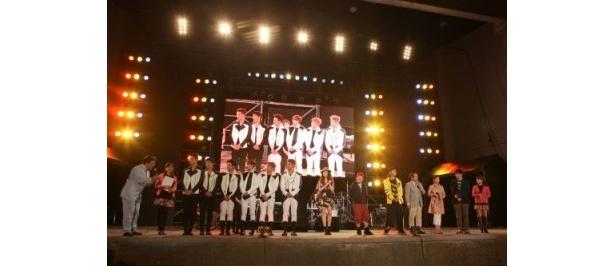 2日間にわたり沖縄で熱いライブが繰り広げられた「めざましスーパーライブin沖縄」