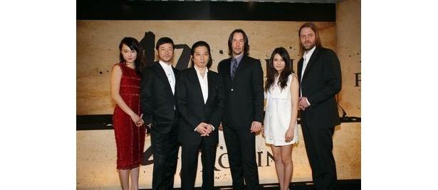 ロンドンで行われた発表会では、主演のキアヌ・リーブスの他、真田広之、浅野忠信、菊地凛子、柴咲コウら豪華日本人キャストも登場