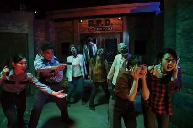 作品の舞台「ラクーンシティ」の世界をこまやかに表現。人気作品の世界でゾンビを打ち倒せ!/ユニバーサル・スタジオ・ジャパン