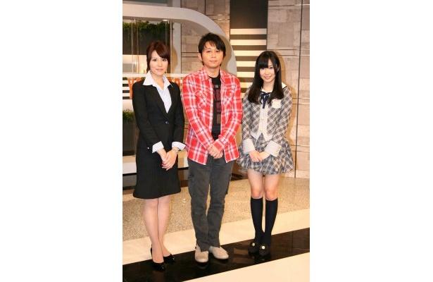 有吉と指原は一柳亜矢子アナウンサーと共に資格試験突破のメソッドを伝えていく