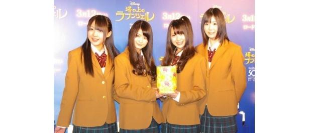 【写真】3月9日(水)に「バンザイVenus」を発売するSKE48は「オリコン1位を狙いたい」と意気込んだ