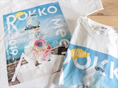 Tシャツグッズも(サイズは150、S、M、L)2500円で販売