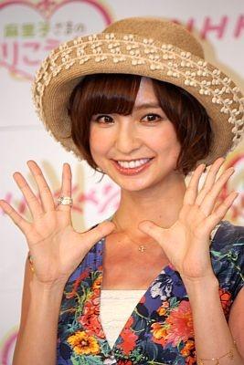 「『麻里子さま』という言葉は聞きなれなくて」と番組タイトルについて感想を語る篠田さん