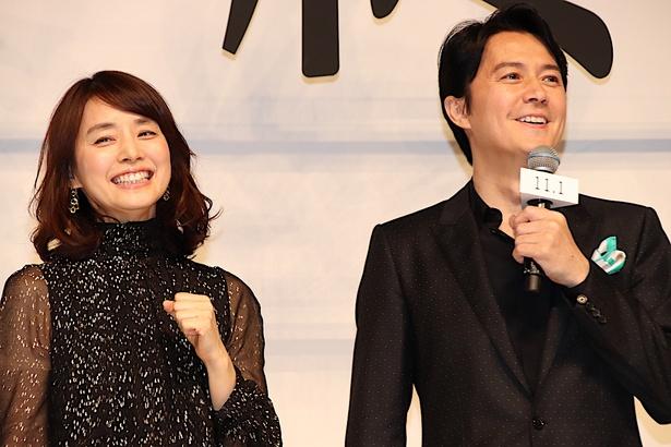 福山雅治と石田ゆり子が大人のラブストーリーで初共演!