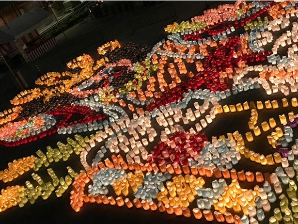 第25回博多灯明ウォッチング / 灯明の美しく幻想的な光景が博多の街を彩る