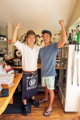 左、「RAMEN渦雷」店主・大西芳美さん 右、「支那蕎麦屋 藤花」店主・佐藤洸さん