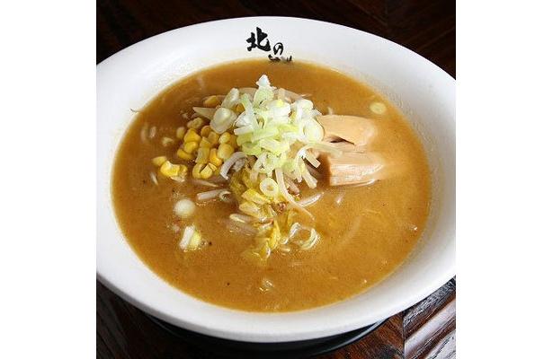 北の大草原 亀戸店「香り味噌らぁめん」(¥850)