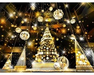 高さ8メートルのツリーに圧巻!グランフロント大阪のクリスマスイベント
