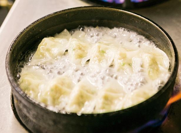 餃子 鉄 鍋