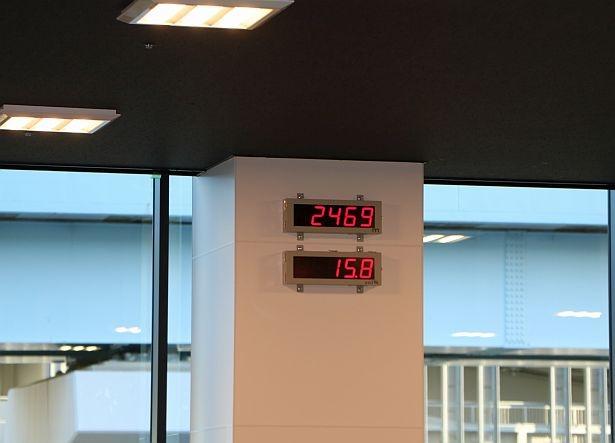 酸素濃度は部屋ごとに調節可能。曜日・エリアごとに設定濃度は異なる