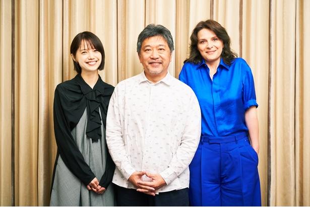 『真実』のジュリエット・ビノシュ、宮崎あおい、是枝裕和監督