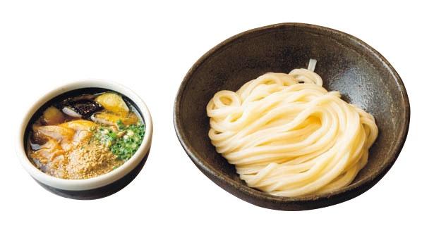 オリーブ豚のつけ麺(780円)/うどん棒