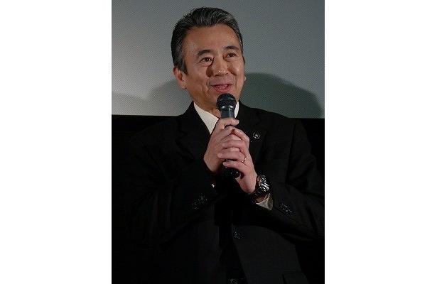 浜松から応援に駆けつけた浜松市長