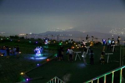 駒ケ岳山頂天体観測
