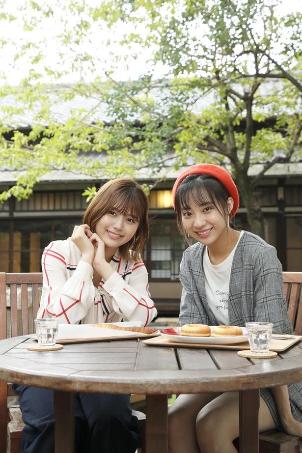 「日本庭園を眺められるテラス席もオススメ♪」(2人)