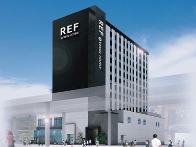 新ブランド「REF by VESSEL HOTELS」の外観