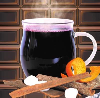 体をやさしく温めるチョコレートグリューワイン