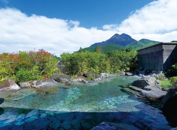 梅園 / 由布岳を見渡す露天風呂「天心の大湯」