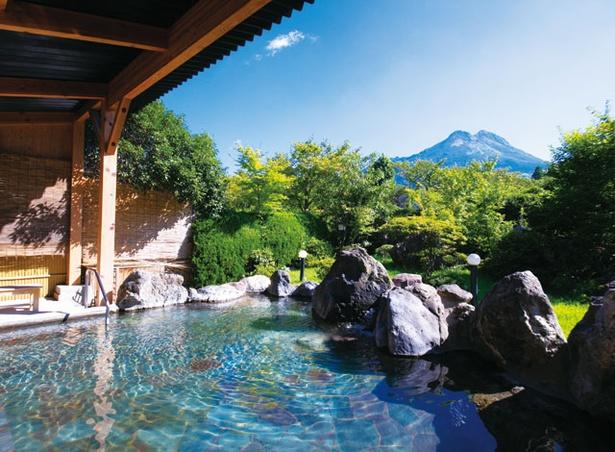 ゆふいん 山水館 / 由布岳が一望できる「ゆふの湯」