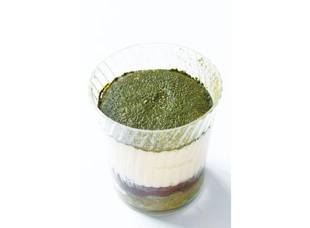 茶郎本舗 / 「和菓子屋の抹茶ティラミス」(300円)