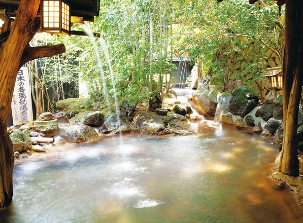 いこい旅館 / 露天風呂「滝の湯」