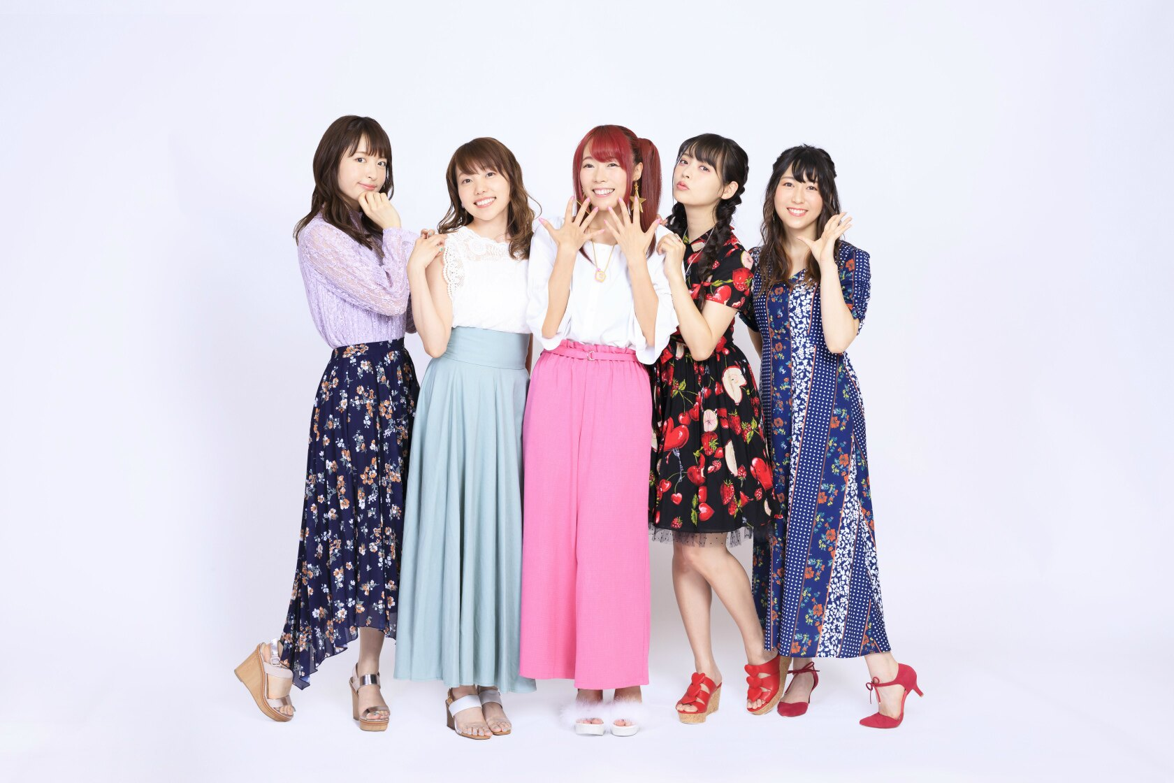 「スター☆トゥインクルプリキュア」でプリキュアを演じる5人の声優が集合!