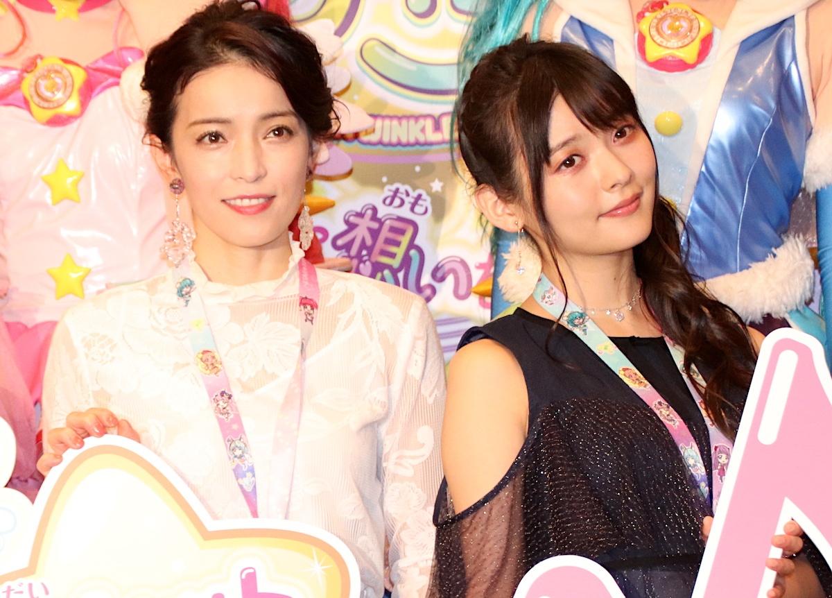 【写真を見る】知念里奈&上坂すみれが「プリキュア」映画に参加した喜びと緊張を語った