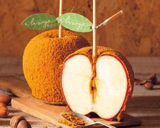 """神戸にある""""青森リンゴ専門店""""にキャラメルを使った秋メニューが登場!「a la ringo あら、りんご。」"""