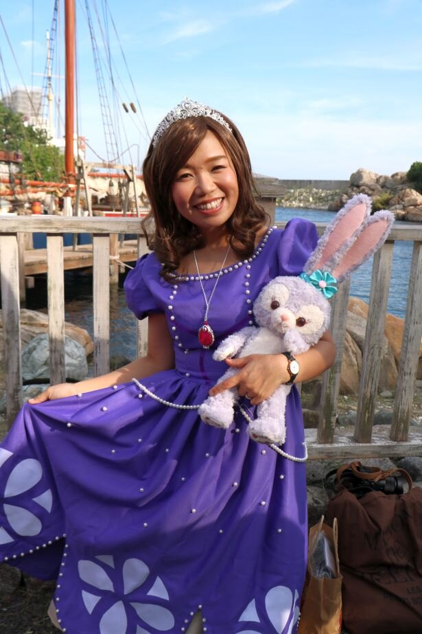 プリンセスの衣装も人気