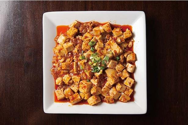 餃子兄弟 / 豆板醤と胡椒の辛味がガツンとくる「麻婆豆腐」(750円、定食650円)