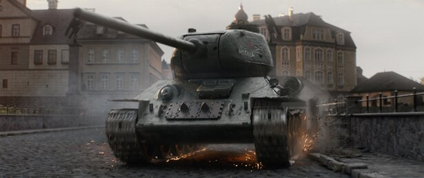 兵器である戦車が鉄の棺桶にもなるという戦争の現実も描く