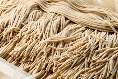 小麦の香りをしっかりと感じる自家製麺 / 侍麺