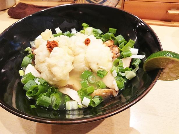 もはや懐石和食!「饗 くろ㐂」のラーメンWalker東京2020限定麺で上品な秋の味覚を満喫