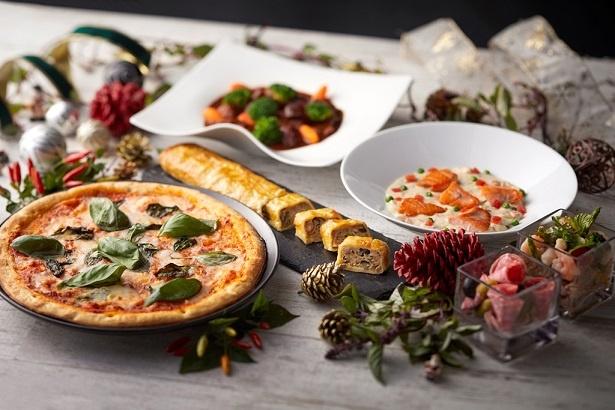 カフェ&レストラン グリーンハウス / クリスマスランチブッフェの料理例