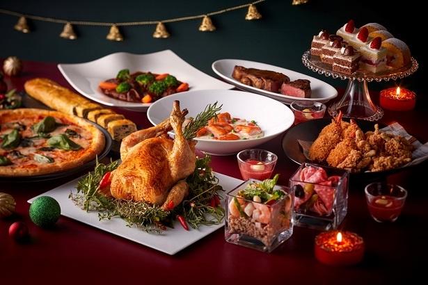 カフェ&レストラン グリーンハウス / クリスマスディナーブッフェの料理例