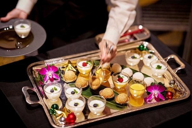 中国料理 大観苑 / クリスマスランチの選べるデザートプレート