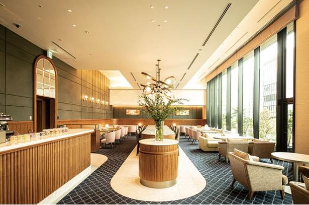 都ホテル 博多 / フロント併設の「カフェ エンパシー」