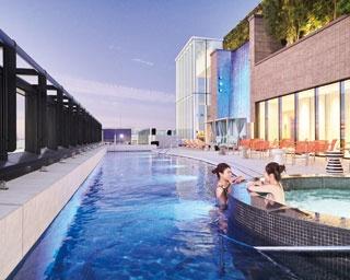 博多駅の新たなランドマークで貴重な天然温泉を楽しむ「都ホテル 博多」