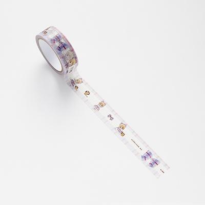 「姫ちゃんのリボン」のイラストをモチーフにデザインしたマスキングテープ(440円)/「特別展 りぼん」